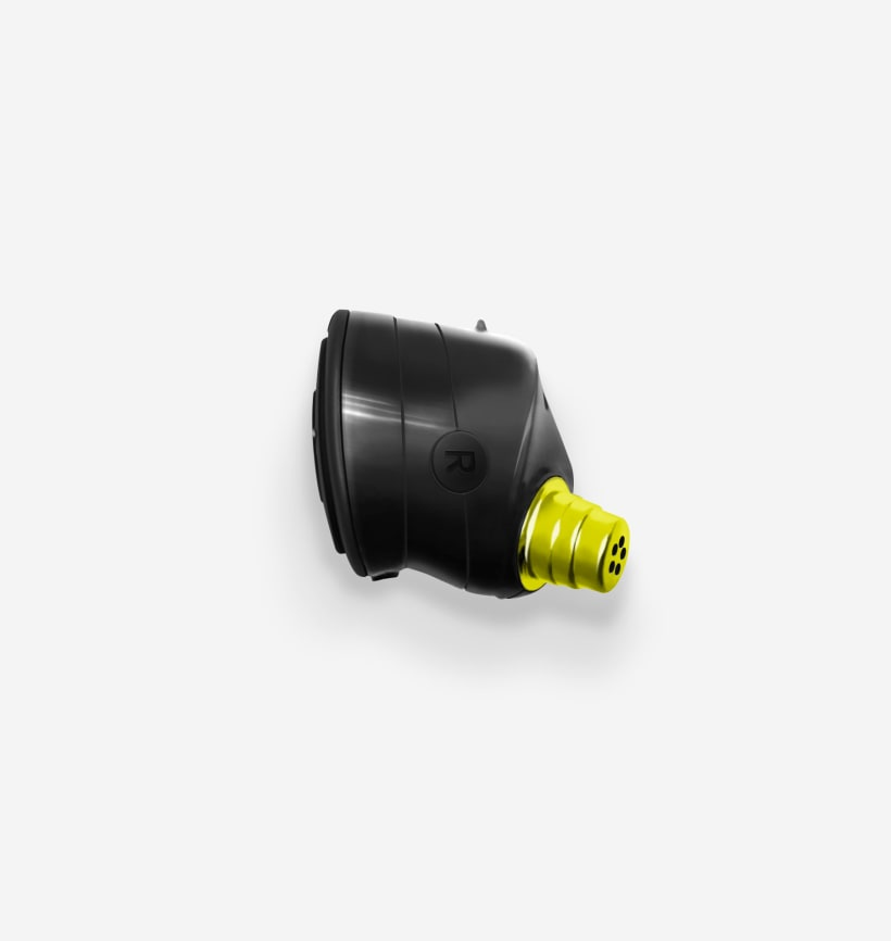 Run XT - Black/Flash Right Earbud