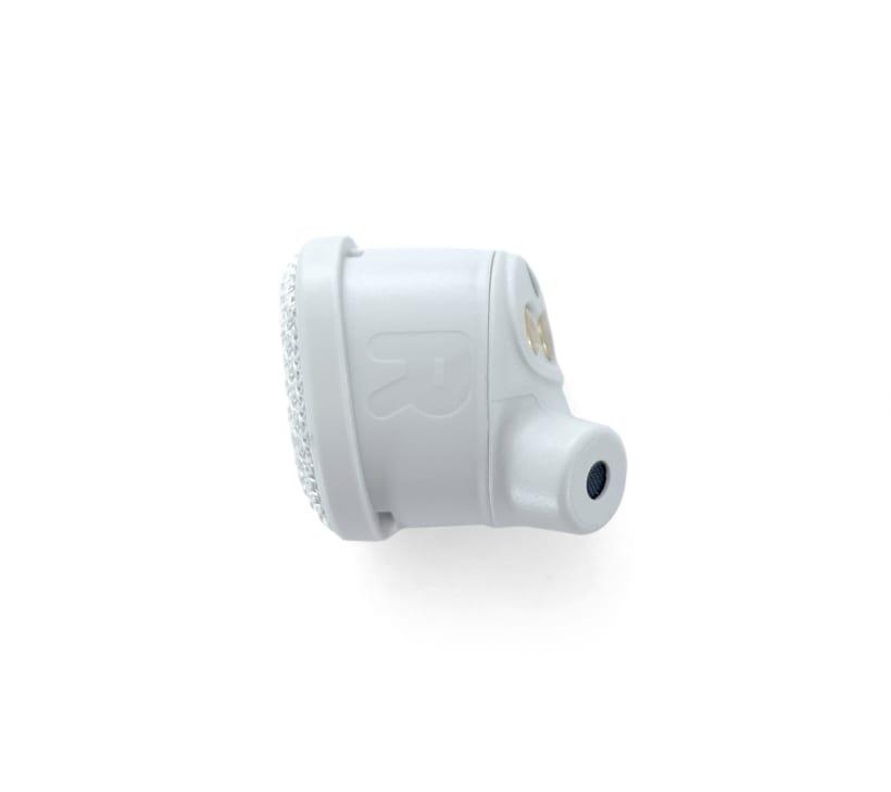 Vista 2 - Nimbus Gray Right Earbud