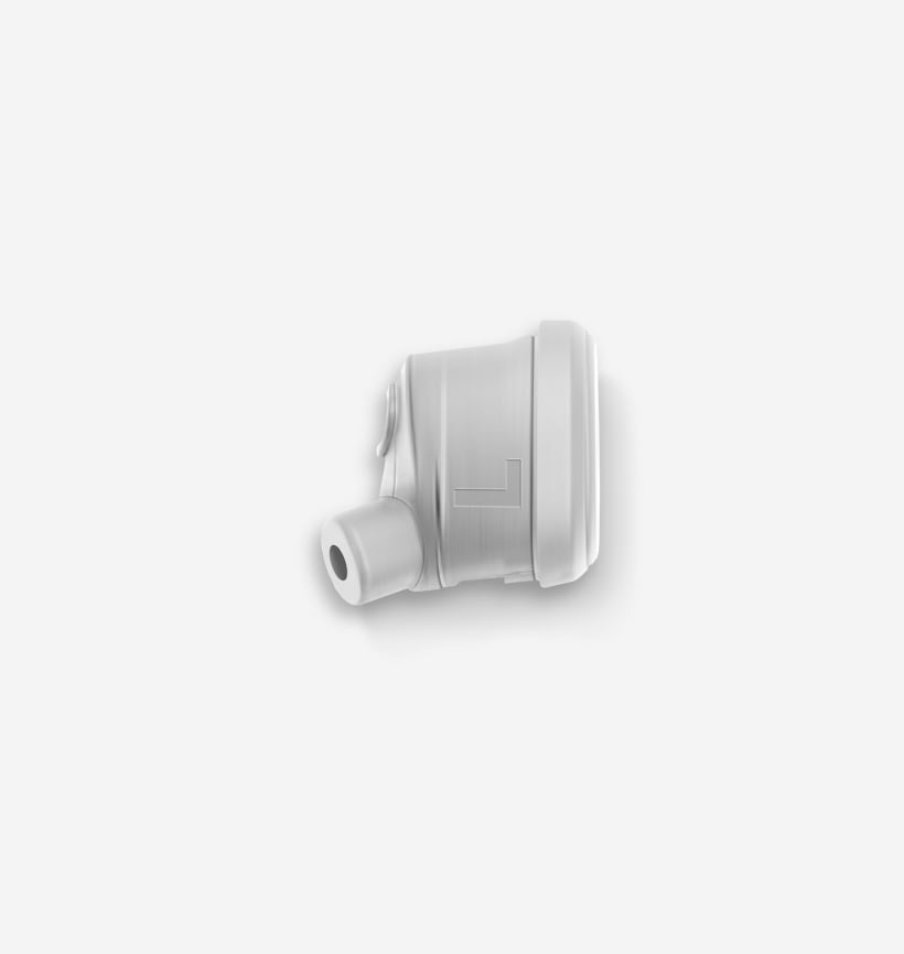 Vista - Nimbus Gray Left Earbud